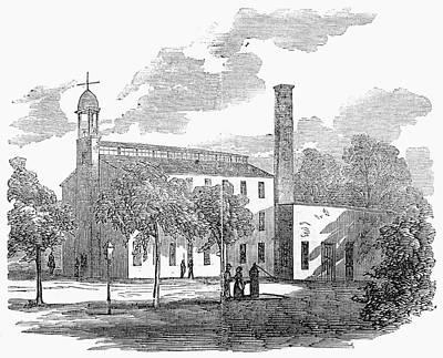 Prison Painting - Civil War Prison, 1862 by Granger