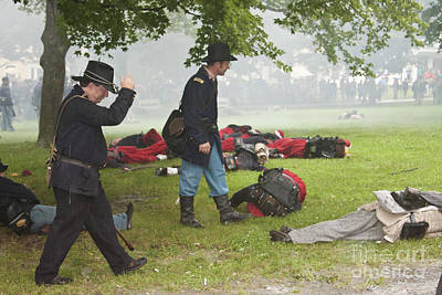 Photograph - Civil War Reenactment 4 by Tom Doud