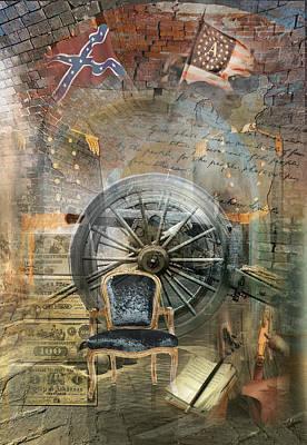 Digital Art - Civil War Remembrance by Linda Carruth