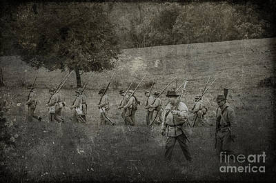 Photograph - Civil War Revisited by Terry Rowe