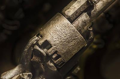 Photograph - Civil War Revolver by Bradley Clay