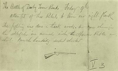 U.s Army Drawing - Civil War Rifle, 1864 by Granger