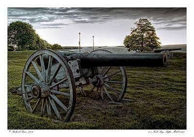Art Print featuring the photograph Civil War Rifles by Richard Bean