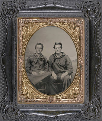 Civil War Sailors, C1863 Art Print by Granger