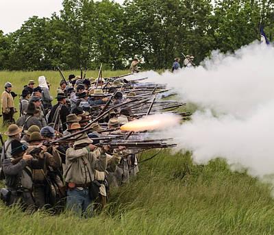 Photograph - Civil War Smoke by David Lester