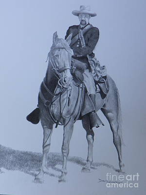Mango Drawing - Civil War Soldier  by David Ackerson