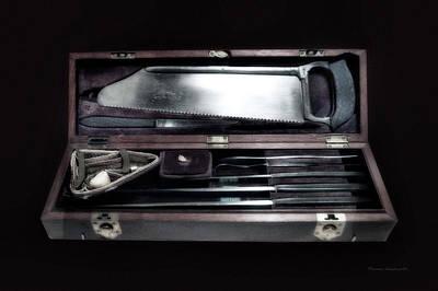 Civil War Surgical Kit Art Print