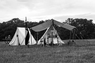 Photograph - Civil War Tent 2 by David Lester