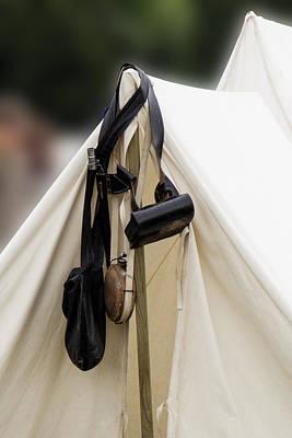 Photograph - Civil War Tent 3 by David Lester