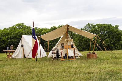 Photograph - Civil War Tent by David Lester