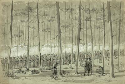 Civil War Union Army, 1864 Art Print