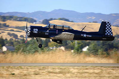 Photograph - Cj-6 Southern Comfort Taking Off N26yk by John King