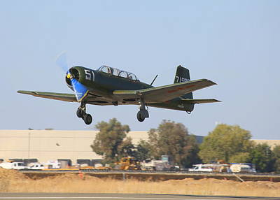 Photograph - Cj-6 Takes Off N923yk by John King