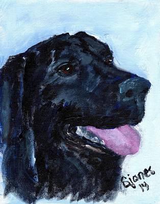 Painting - CJ by Shelley Jones
