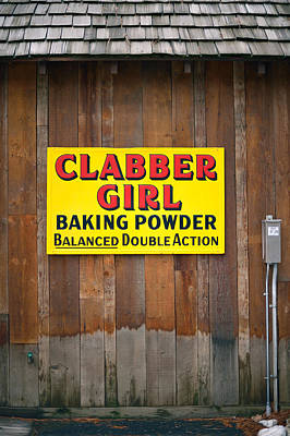 Clabber Girl Art Print