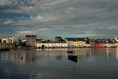 Claddagh  Quays. Art Print by Peter Skelton