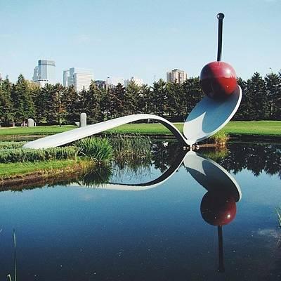 Pop Art Photograph - Claes Oldenburg Spoon by Angel Mehechen