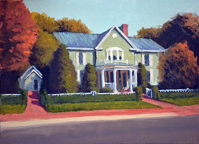 Patrick Painting - Claiborne House Autumn by Armand Cabrera