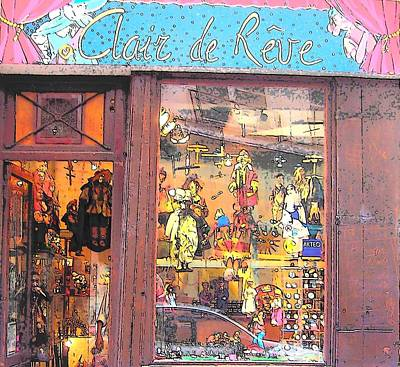 Toy Shop Photograph - Clair De Reve by Jan Matson