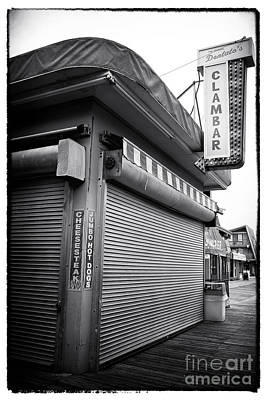 Clam Bar Art Print by John Rizzuto