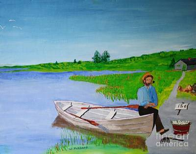 Painting - Clam Tucker by Bill Hubbard