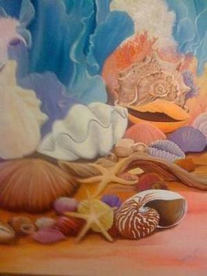 Painting - Clammed Up by Patti Lane