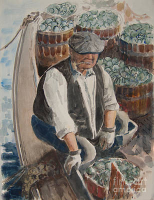 Clammer Painting - Clammer 2 by Anthony Coulson