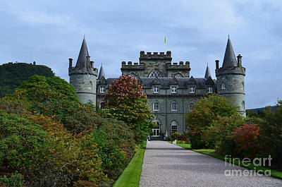 Clan Campbell Inveraray Castle Art Print by DejaVu Designs