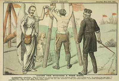 Clanricarde And Balfour Print by British Library