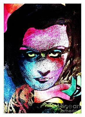Mixed Media - Clara Color by Bonnie Cushman