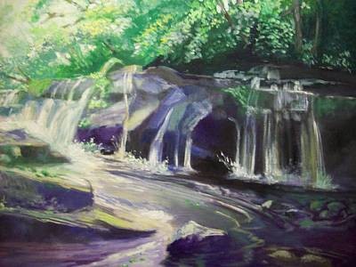 Painting - Clare Glens Co Tipp Ireland by Paul Weerasekera