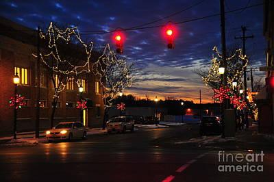 Clare Michigan Photograph - Clare Michigan At Christmas 5 by Terri Gostola