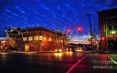 Clare Michigan Photograph - Clare Michigan At Christmas 6 by Terri Gostola