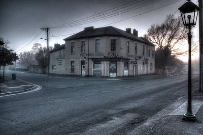 Photograph - Clarendon Arms Hotel Tasmania by Ian  Ramsay