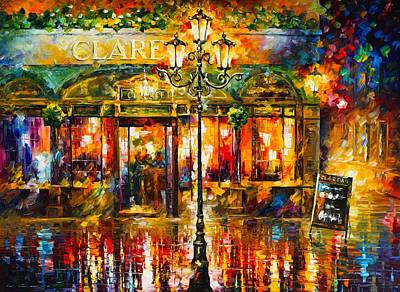 Abstract Realism Painting - Claren's by Leonid Afremov