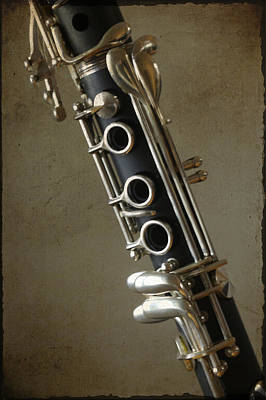 Photograph - Clarinet by Christopher Rees