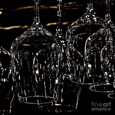 Glassware Digital Art - Clarity by Heidi Peschel