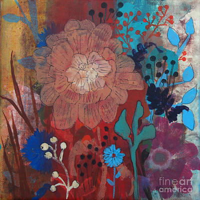 Art Print featuring the painting Clarity by Robin Maria Pedrero