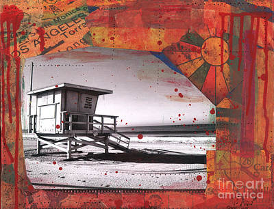 Venice Beach Mixed Media - Clarity Through Chaos by Sarah Schnieder