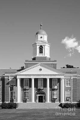 Photograph - Clark Atlanta University Harkness Hall by University Icons