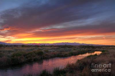 Photograph - Clark County Wetlands Park by Eddie Yerkish