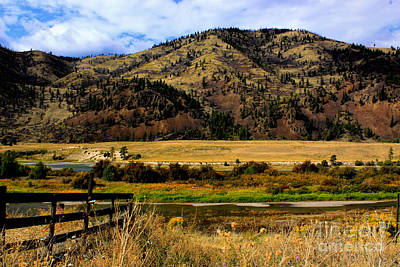 Photograph - Clark Fork River by Richard Lynch