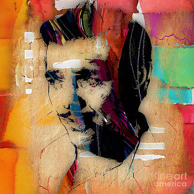 Clark Gable Collection Art Print