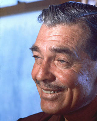 Misfits Photograph - Clark Gable In The Misfits by Silver Screen