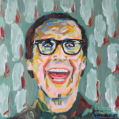 Bachelor Pad Art Painting - Clark W Griswold by Robert Yaeger