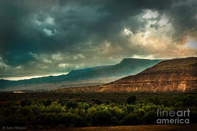 Ridge Photograph - Clarkdale Arizona  by Arne Hansen