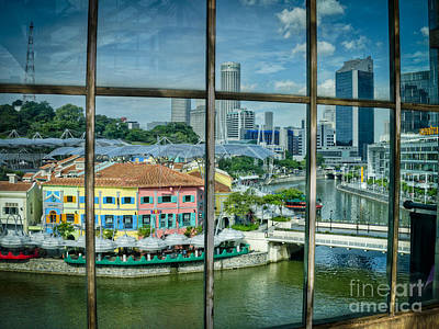 Photograph - Clarke Quay Singapore by Hans Janssen