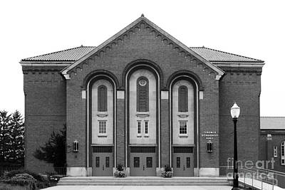 Clarke University Donaghoe Hall Theater Art Print by University Icons