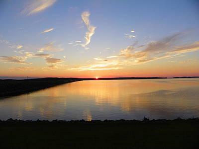 Clarks Hill Lake Photograph - Clarks Hill Lake by Gene Sheffield
