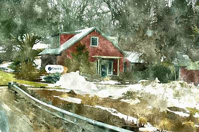 Clarks Nursery And Landscaping Comstock Park Michigan Art Print by Rosemarie E Seppala